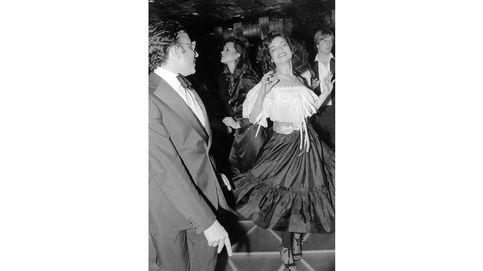 De Claudia Schiffer a Clooney y Warhol, 40 años de fiesta en clubes del mundo