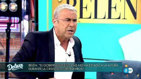 Jorge Javier abandona el plató del 'Deluxe' tras una gran bronca con Belén Esteban