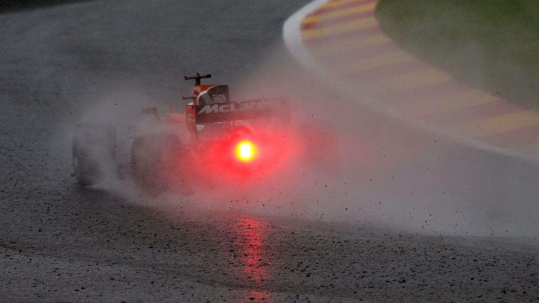 Alonso no pasó la Q2 en Bélgica. (Reuters)