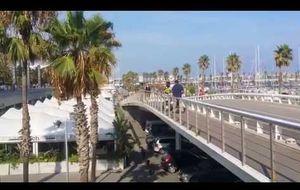 James Harden practica deporte de riesgo en Barcelona