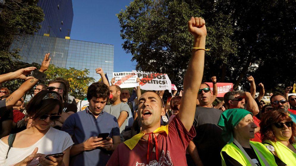 Foto: Manifestación independentista en Sabadell. (EFE)