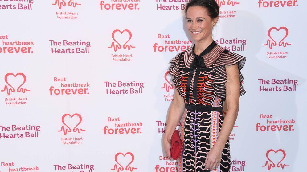 Foto: Pippa en el baile de la British Heart Foundation. (Getty)