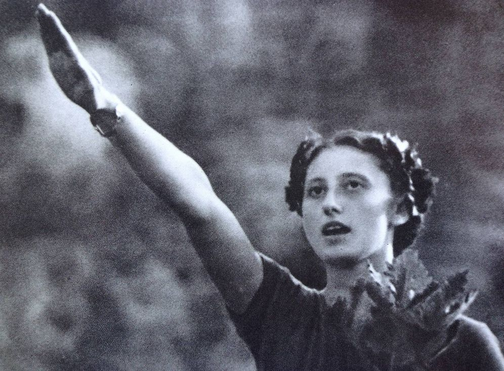 Foto: Fotograma de 'Olympia', de la directora Leni Riefenstahl