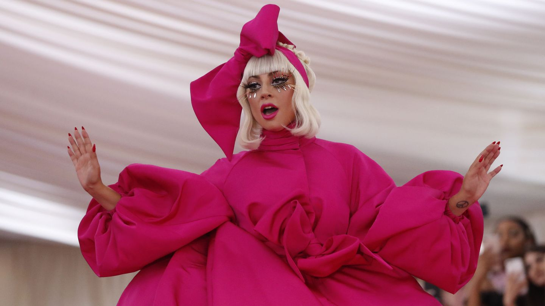 Lady Gaga, en la gala del MET 2019 (Reuters)