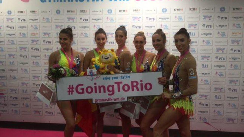 La gimnasia rítmica se cuelga el bronce en el Mundial y sella el pase a Río