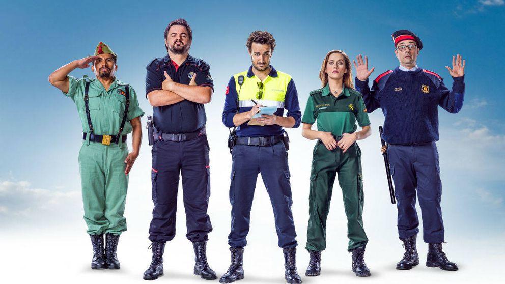 Antena 3 se propone convertir en serie 'Cuerpo de élite', tras su éxito en taquilla