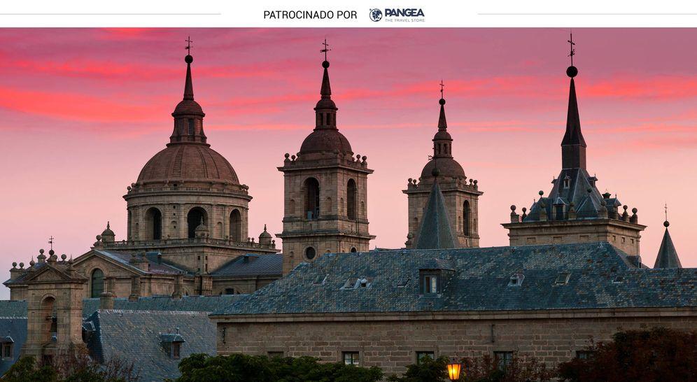 Foto: Silueta del Monasterio de El Escorial