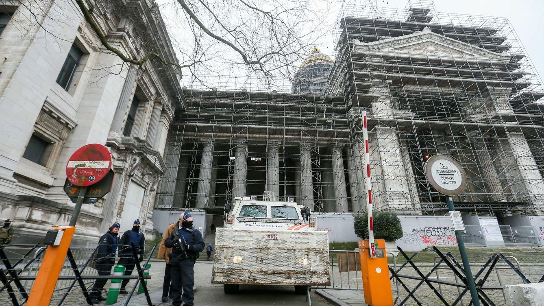 Foto: El Palacio de Justicia de Bruselas, donde se ha dictado sentencia contra Salah Abdeslam. (EFE)