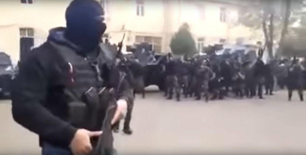 Foto: Captura de pantalla de un vídeo de las fuerzas especiales antiterroristas de la policía turca.