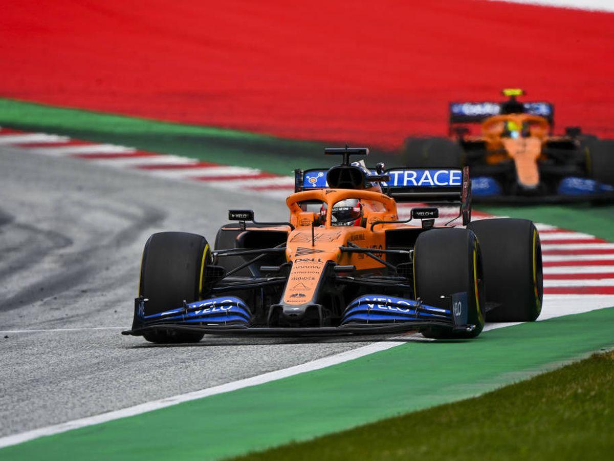 Foto: La F1 se ha dividido en tres grupos, según Sainz, y McLaren está junto a Ferrari, Renault y Racing Point (MCLAREN)