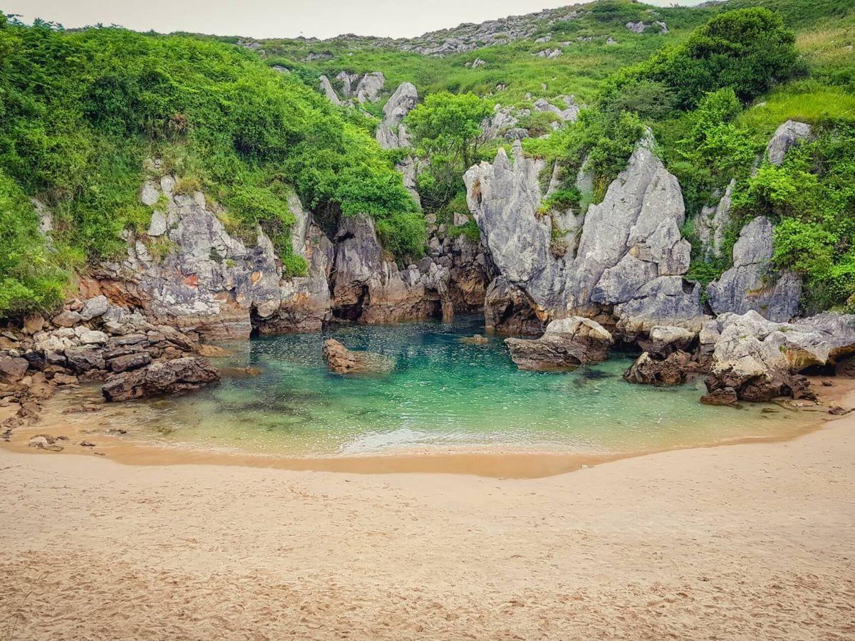 Foto: Playa de Gulpiyuri (Fuente: iStock)