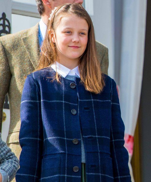 Foto: Isabella de Dinamarca en el cumpleaños de la reina Margarita. (Cordon Press)