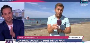 Post de Un reportero de À Punt deja en ridículo a un madrileño por afear el mar valenciano