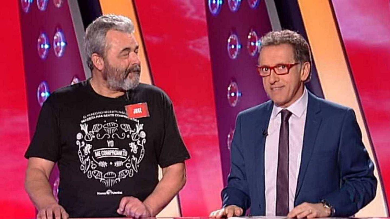 José Pinto y Jordi Hurtado, en 'Saber y ganar'. (TVE)