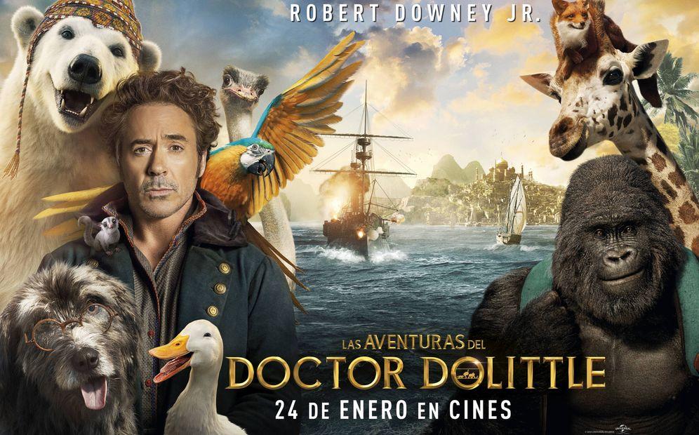 Foto: Cartel de 'Las aventuras del doctor Dolittle'.
