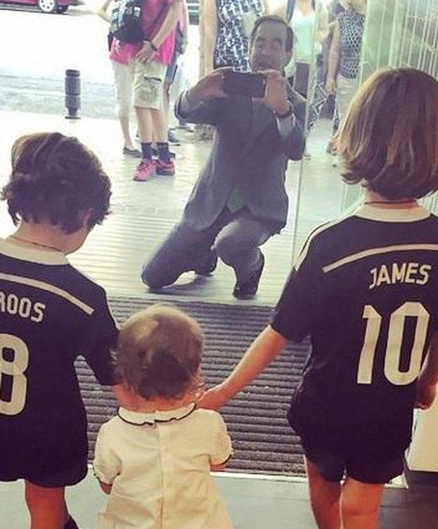 Foto: Instagram - José Bono, el mejor fotógrafo de sus nietos