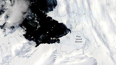 Así se desprende de un glaciar un iceberg el doble de grande que Barcelona