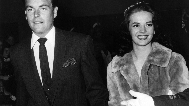 Natalie Wood y Richard Wagner, en 1958. (Cordon Press)