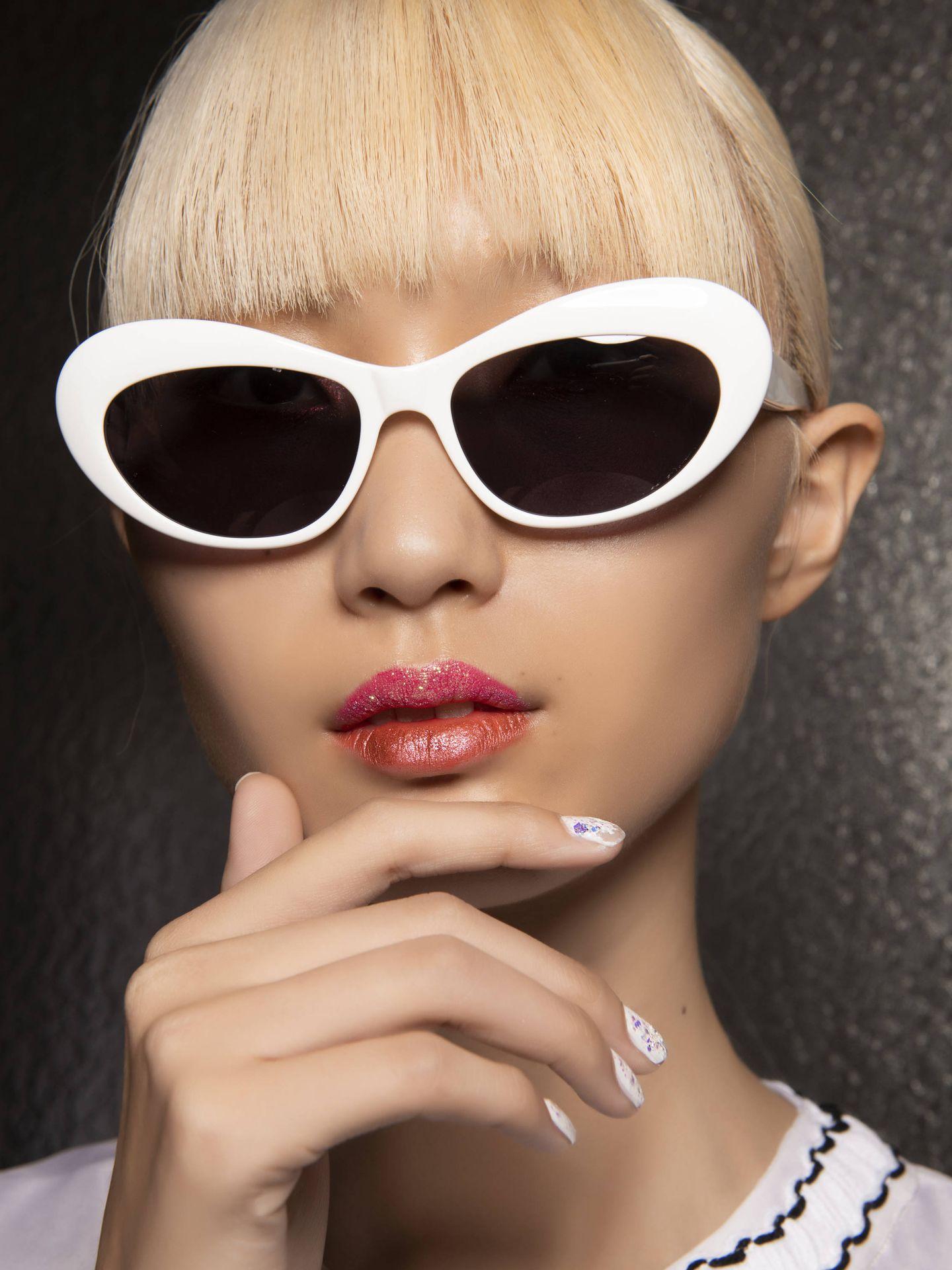 Maquillaje de Vivetta 2020. (Imaxtree)