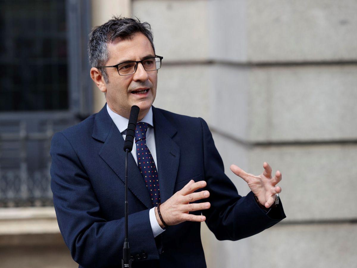 Foto: El ministro de Presidencia, Félix Bolaños. (EFE)