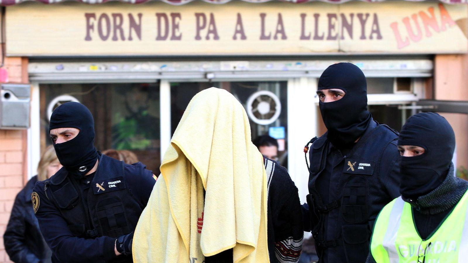Foto: Imagen de uno de los detenidos (EFE)