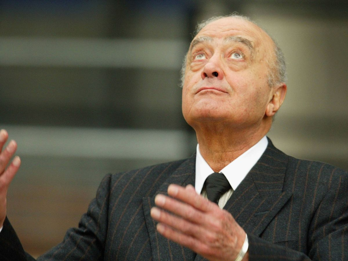 Foto: Mohamed Al-Fayed. (Getty)