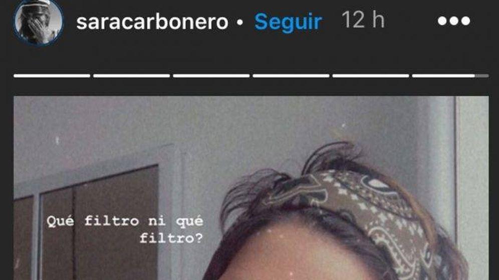 Foto: Sara Carbonero con su nuevo look. (IG)