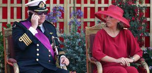 Post de Máxima tensión: las escenitas de Laurent de Bélgica en la Fiesta Nacional