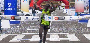Post de Chesum, el atleta paralímpico que ha ganado por sorpresa su primer maratón