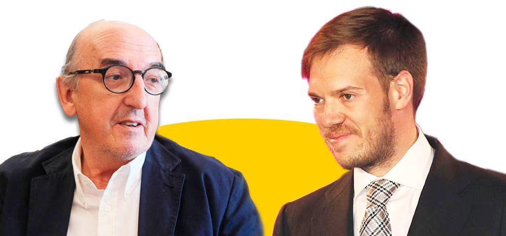 Foto: Jaume Roures y Antonio Asensio. (EC)