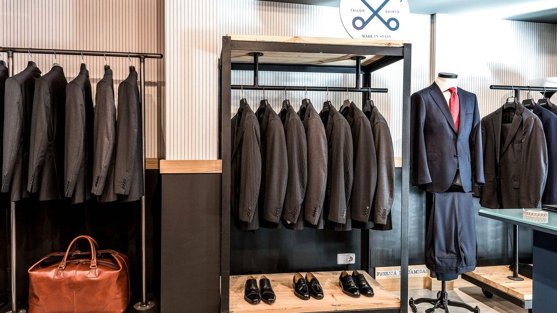 Foto: Imagen del interior de la tienda de La Fábrica de Camisas, en Madrid.