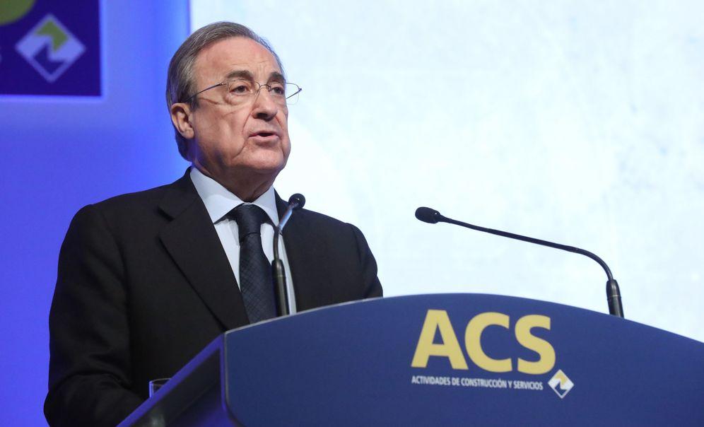 Foto: Florentino Pérez, presidente de ACS