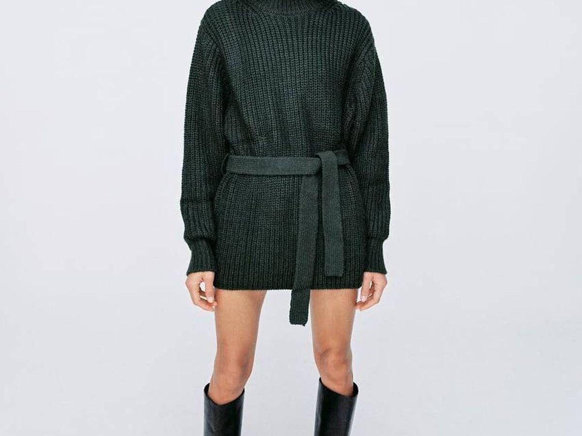 Foto: Jersey oversize de Zara. (Cortesía)