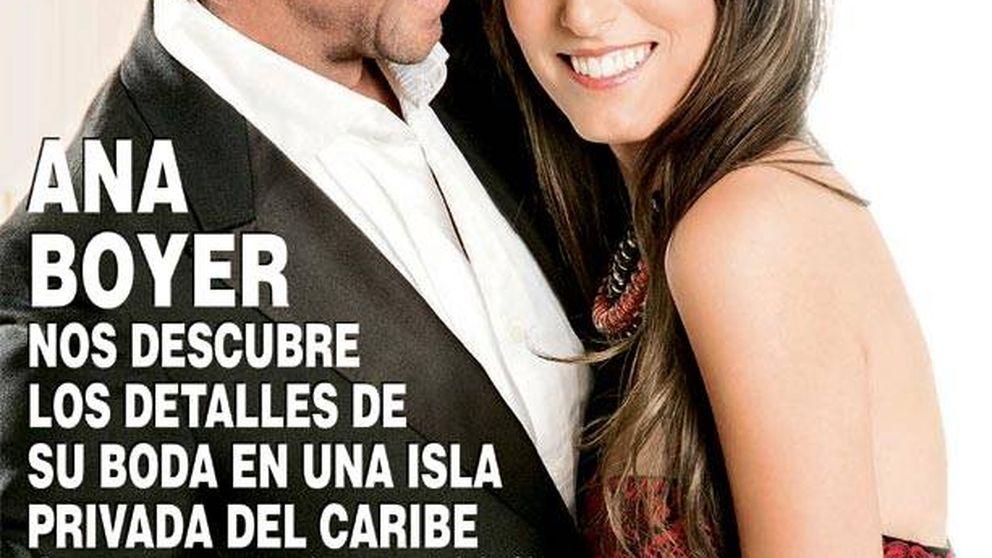 La fecha de boda de Ana Boyer y la maternidad de Toñi Moreno