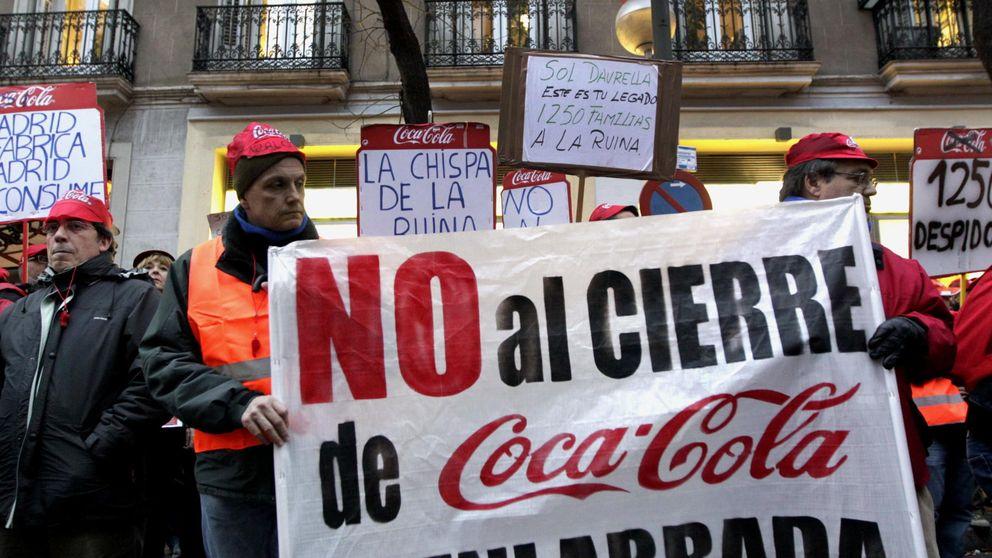 Miles de trabajadores de Coca-Cola se manifestarán en Madrid para frenar los despidos