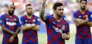 Post de El mensaje repetido de Messi a la afición y la bendición a Griezmann que se hace de rogar