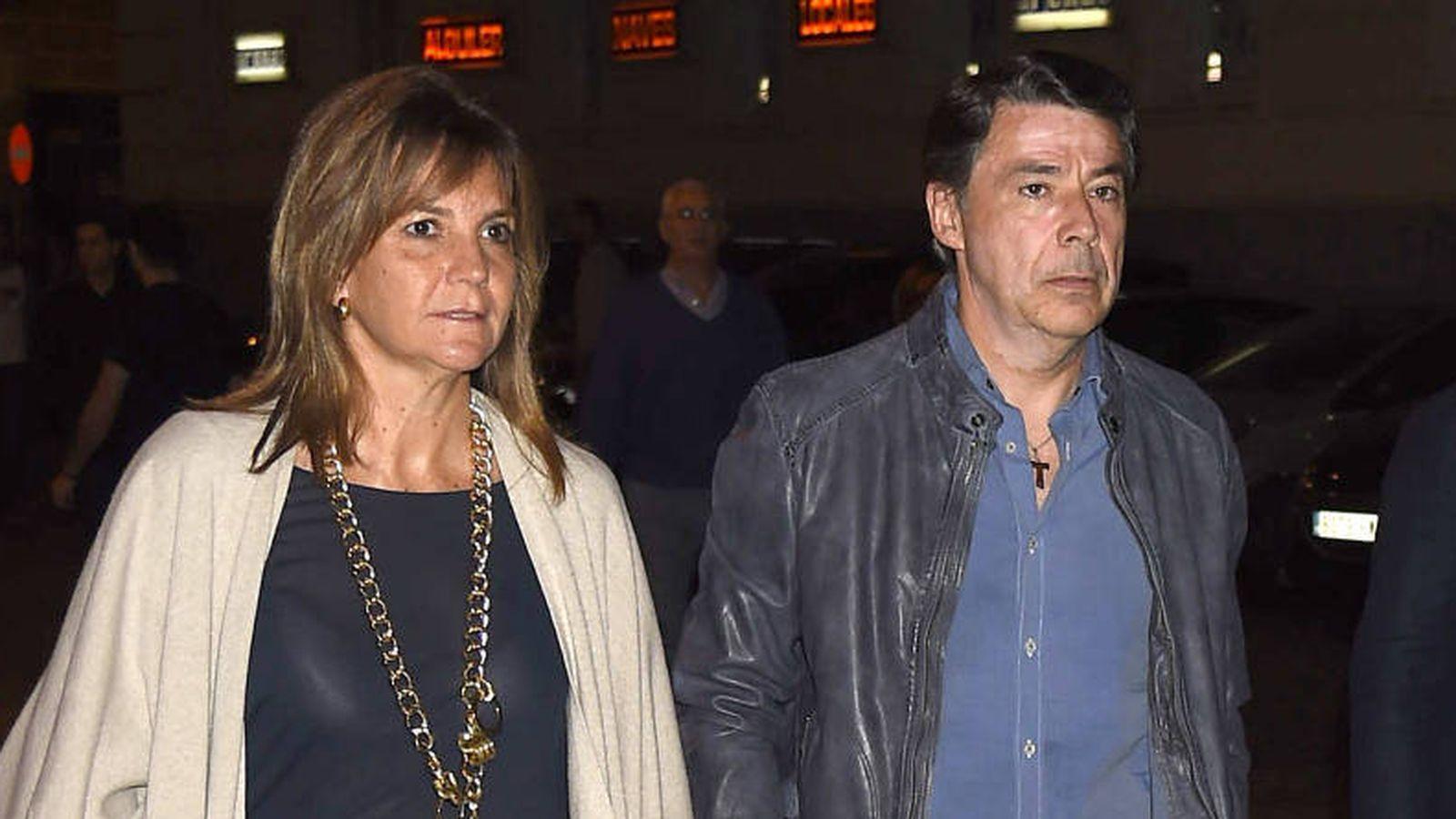 Foto: Ignacio González y Lourdes Cavero. (Gtres)
