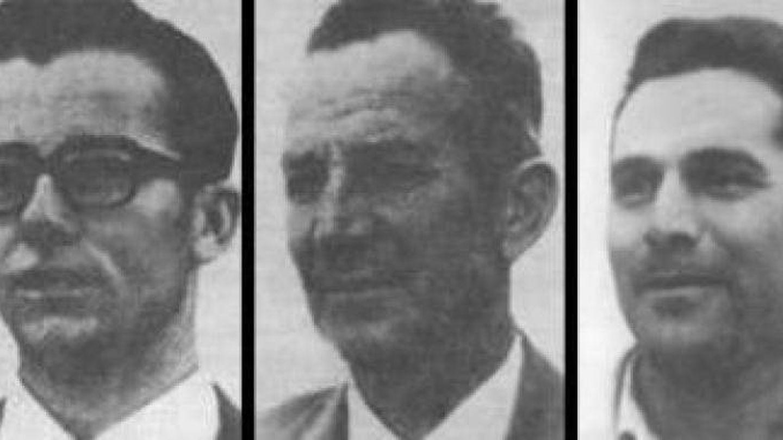 Las cinco víctimas del crimen de Los Galindos.