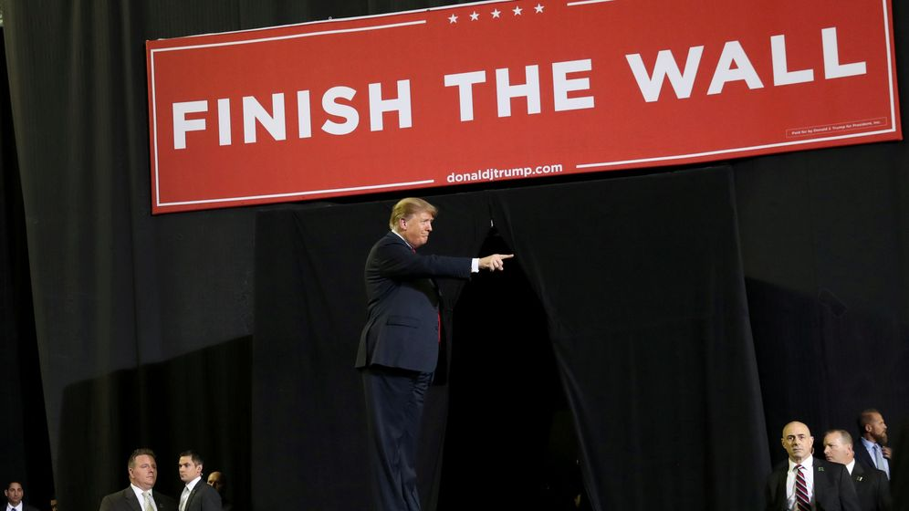 Foto: Donald Trump, durante un evento político en El Paso, el 11 de febrero de 2019. (Reuters)