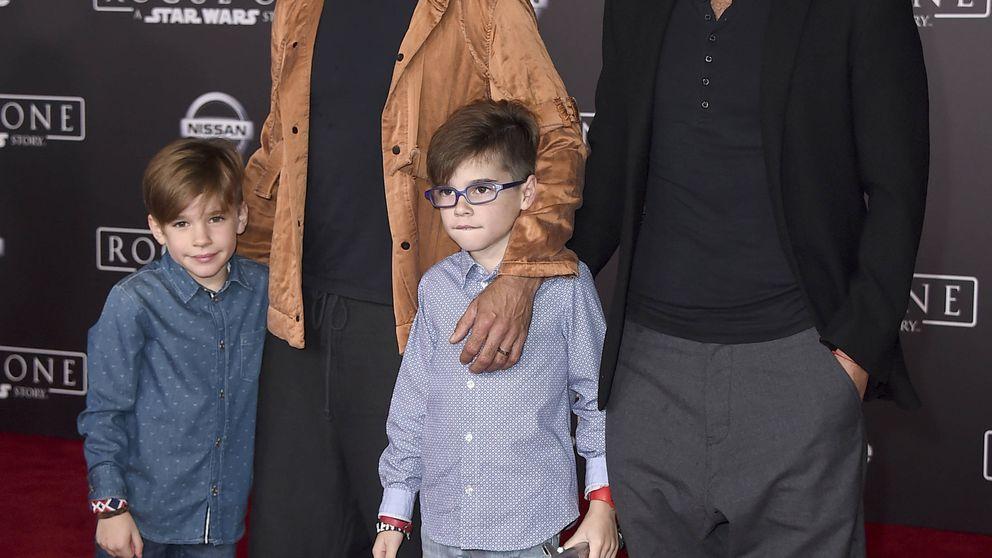 Ricky Martin presume de hijos y futuro marido en la alfombra roja