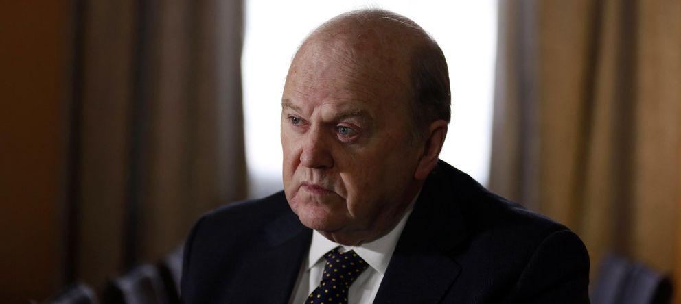 Foto: El ministro irlandés de Finanzas, Michael Noonan (Reuters)
