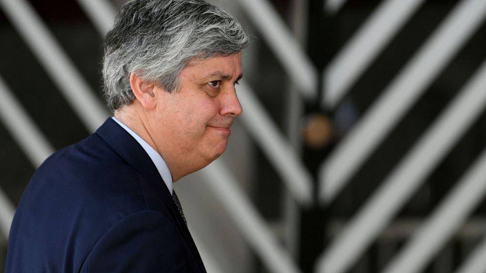 Foto: Mario Centeno, presidente del Eurogrupo. (Reuters)