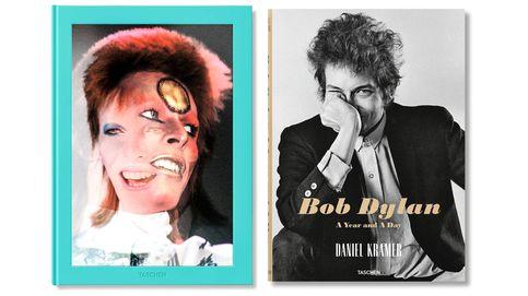 Las fotos nunca vistas de Bob Dylan y David Bowie
