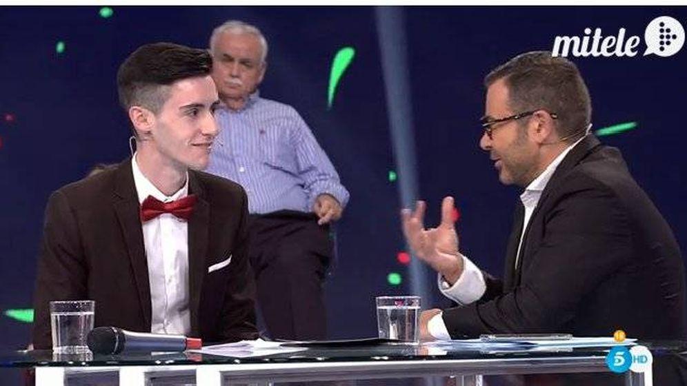 Foto: Pablo es entrevistado por Jorge Javier tras abandonar