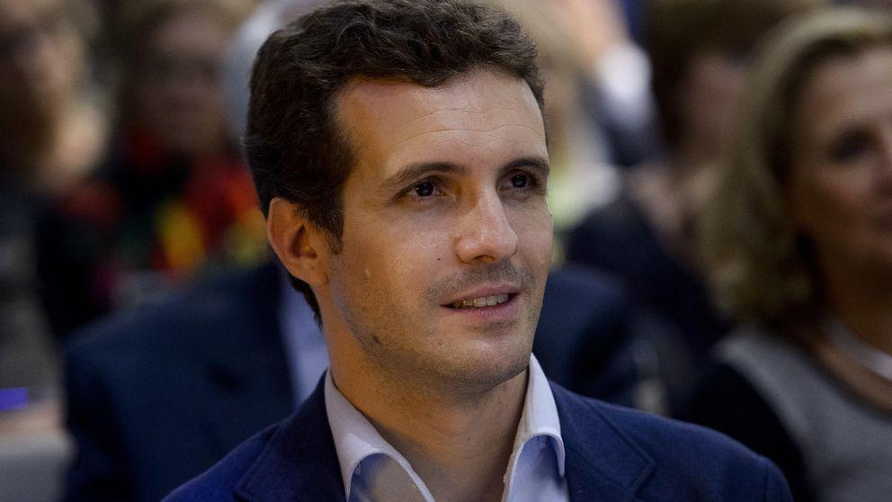 Pablo Casado celebra el día de los prematuros