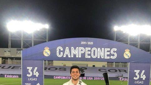 Un sobrino de Florentino celebró el título del Madrid saltándose el protocolo de LaLiga