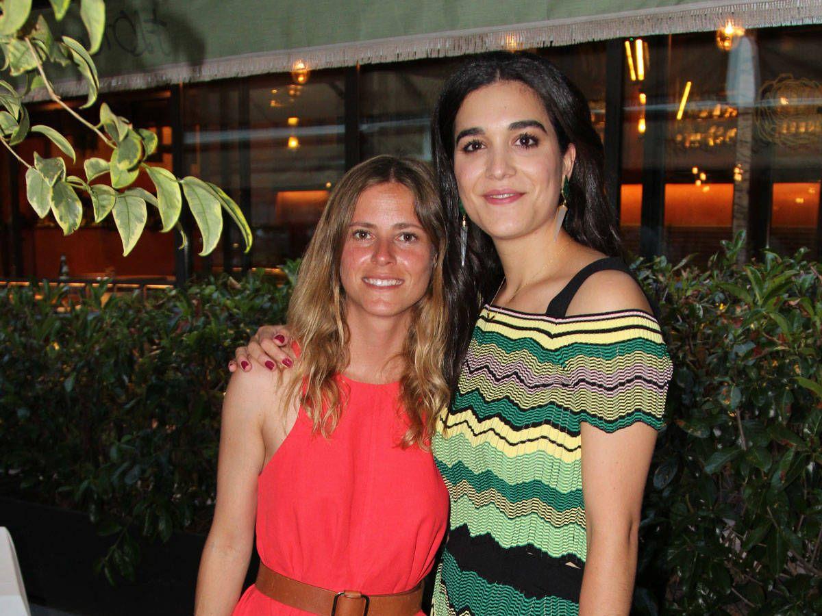 Foto: Bárbara Mirjan y Beatriz Fanjul. (Fotos: Beatriz Morandeira y Jose Luis Simón)