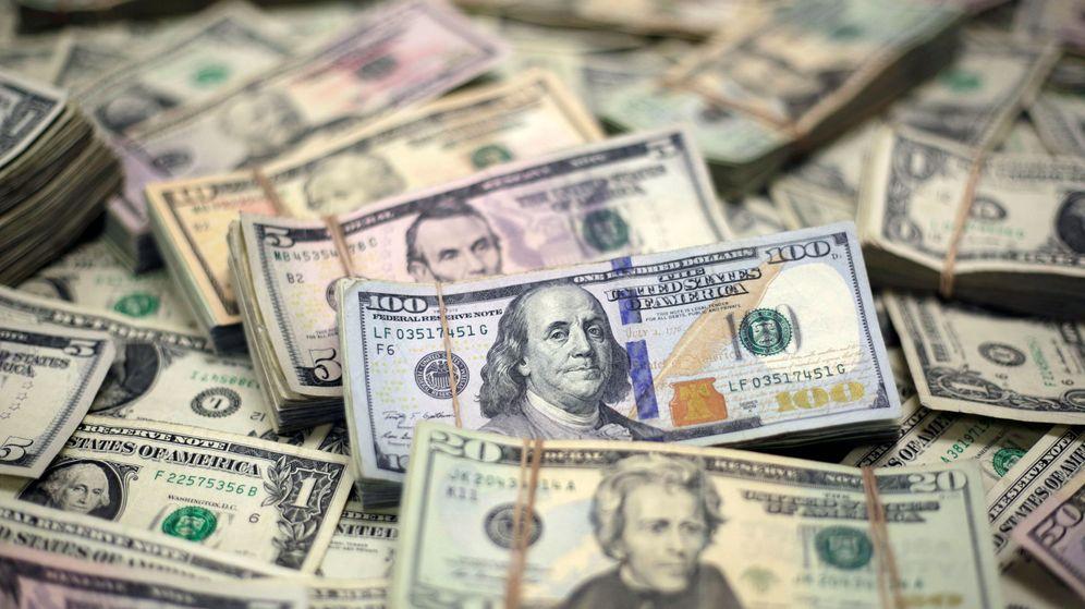 Foto: Billetes de dólar