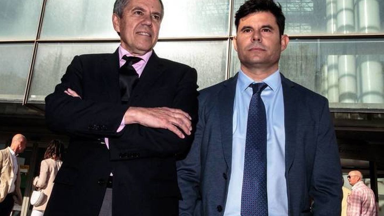 Javier Santos y Fernando Osuna. (EFE)