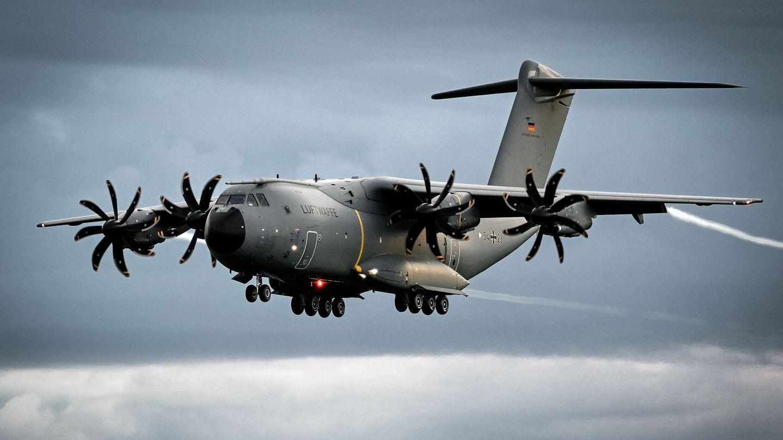 Un avión A400M del ejército alemán. (Reuters)
